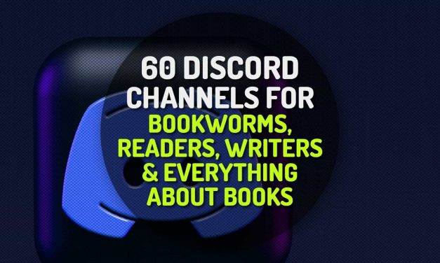 60 Discord Servers for Bookworms, Readers, Writers and Everything About Books