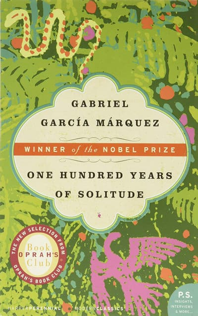One Hundred Years of Solitude by G. Garcia Marquez