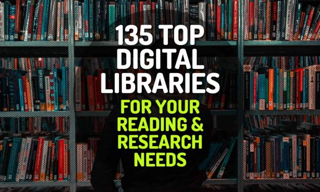 135 Top Digital Libraries for Your Reading and Research Needs