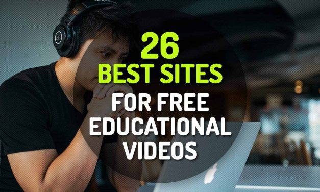 26 Best Sites for Free Educational Videos