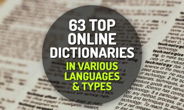 63 Top Online Dictionaries in Various Languages and Types