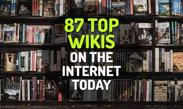 87 of the Top Wikis on the Internet Today