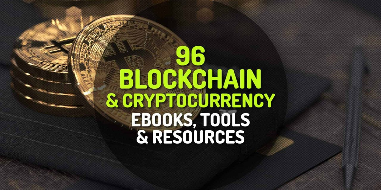 96 Curated Collection of Blockchain and Cryptocurrency Ebooks and Resources